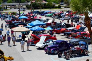 Lake Square Mall Muscle Mania Car Show - Photo by Jamie Asmus