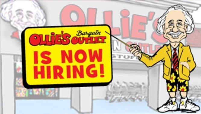 Ollies Bargain Outlet Now Hiring