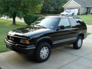 Black 1996 GMC Jimmy