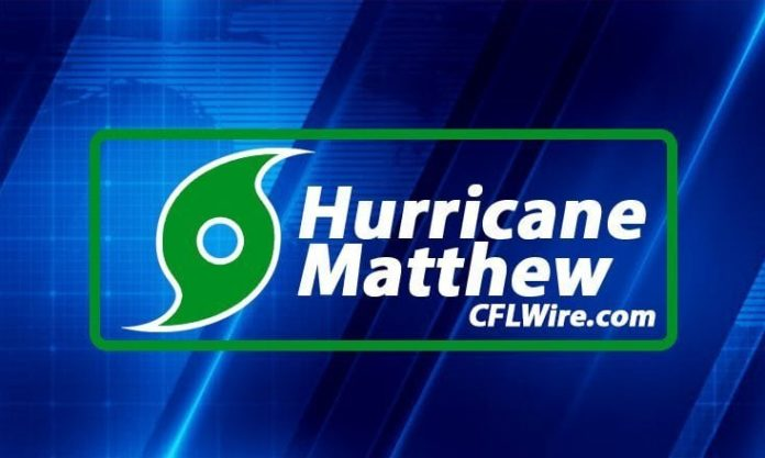 Hurricane Matthew Update, Emergency
