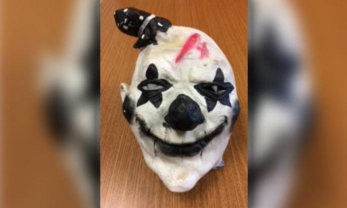 Treadway Elementary School Clown Scare