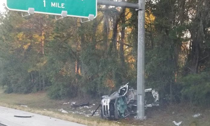 Fatal Accident on Interstate 75 Near Highway 200 Exit