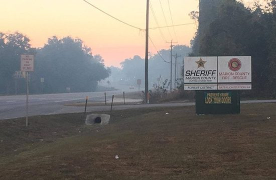 ocala wildfire closes state road 40