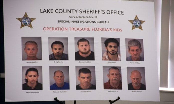 Undercover Internet Sex Sting Operation Ends with Ten Arrests