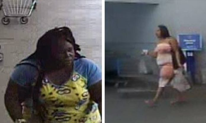 Sumter County Deputies seek to identify two theft suspects from the Bushnell WalMart