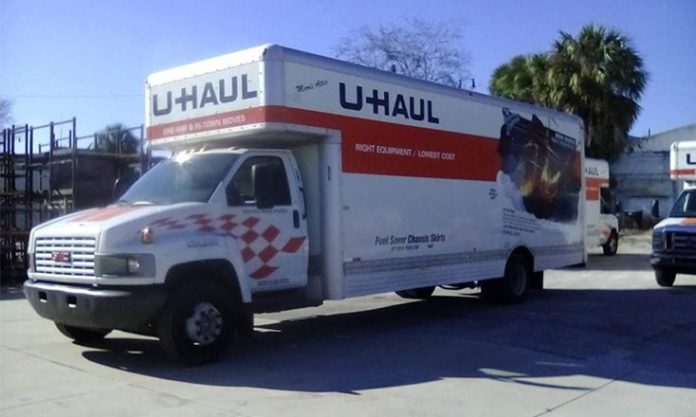 uahul truck stolen from leesburg store