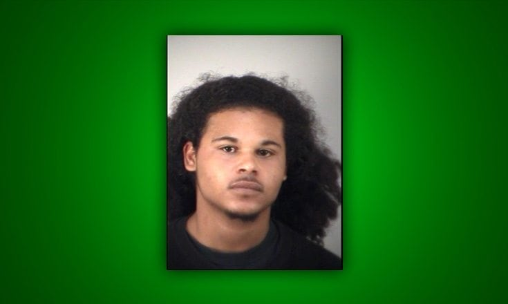 man arrested for assaulting couple with toy gun.