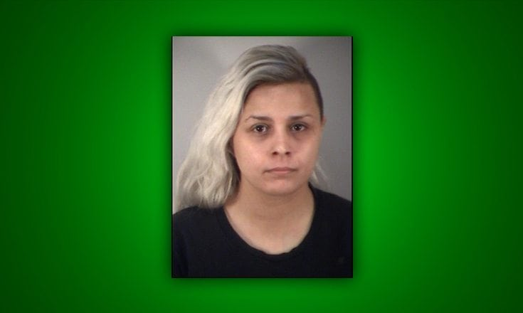 """A Sorrento woman was arrested after being accused of """"beating up"""" her husband during a dispute over child care issues with their toddler."""