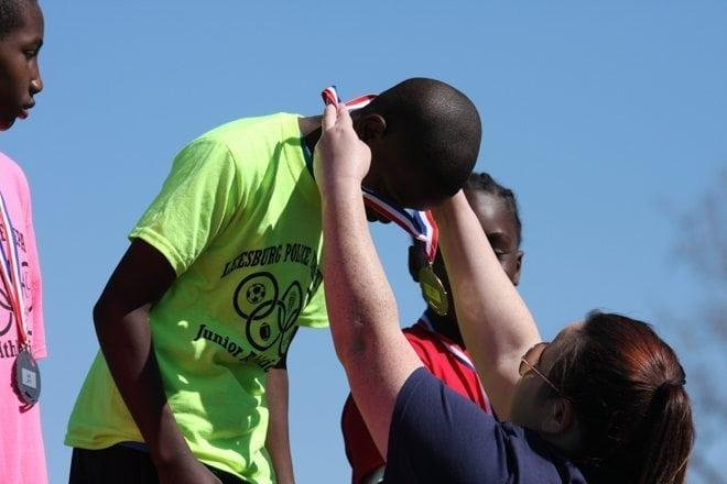 Leesburg Police Department Hosts its 22nd Annual Junior Athletic Games