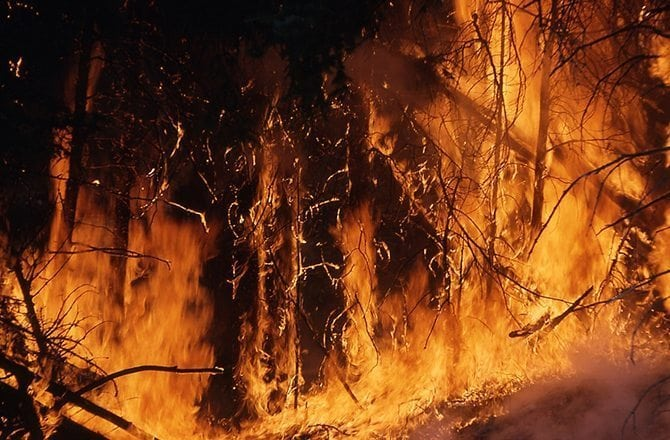 Lake County Public Safety warns of dangerous wildfire conditions